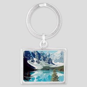 Lago escondido Landscape Keychain