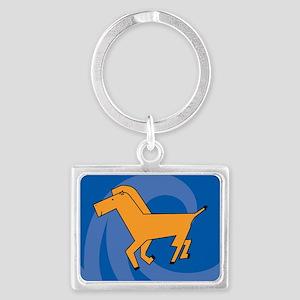 Horse22o Landscape Keychain