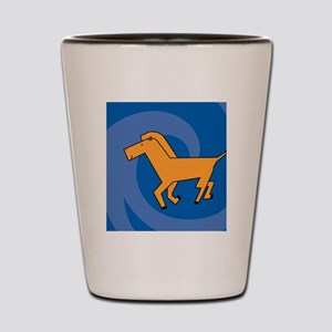 HorseCH Shot Glass