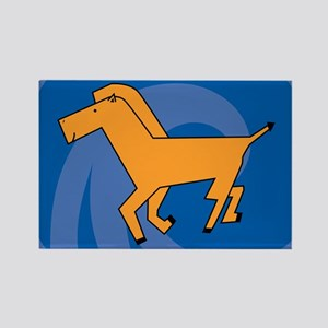 Horse38 Rectangle Magnet