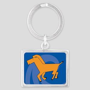 Horse38 Landscape Keychain