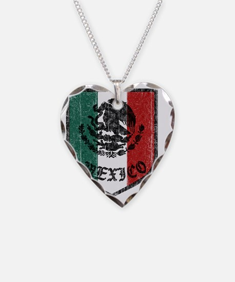 mexico-vintage-flag Necklace