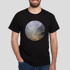 TreeSunsetRidges_13Cir Dark T-Shirt