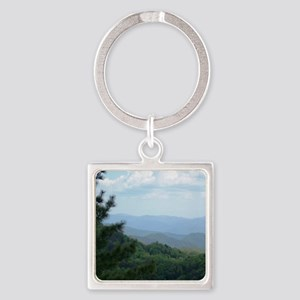 Great Smoky Mountains I Square Keychain