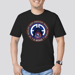 Panther v1_1st-505th - Men's Fitted T-Shirt (dark)