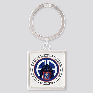 Panther v1_3rd-505th Square Keychain