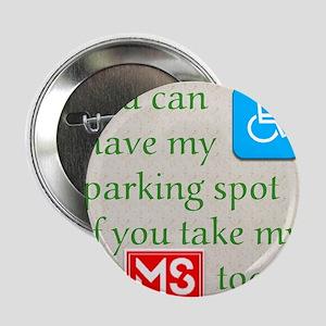 """10 x 10 HandicapParking 2.25"""" Button"""