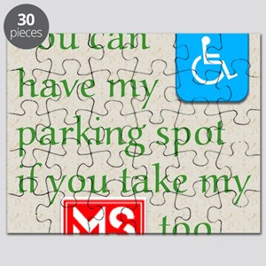 10 x 10 HandicapParking Puzzle