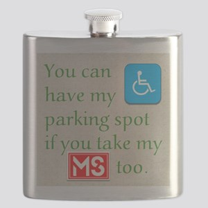 10 x 10 HandicapParking Flask