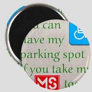10 x 10 HandicapParking Magnet