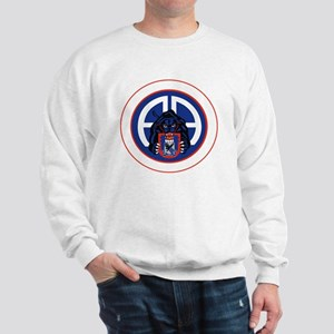 Panther v1_2nd-505th-White Sweatshirt