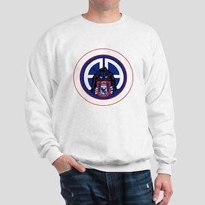 Panther v1_3rd-505th-White Sweatshirt
