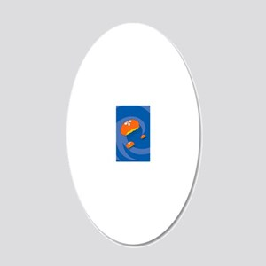 JellyfishKO 20x12 Oval Wall Decal