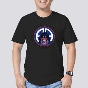 Panther v1_1st-505th Men's Fitted T-Shirt (dark)