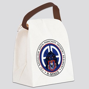 Panther v1_1st-505th Canvas Lunch Bag