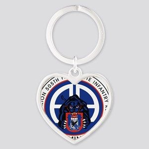 Panther v1_1st-505th Heart Keychain