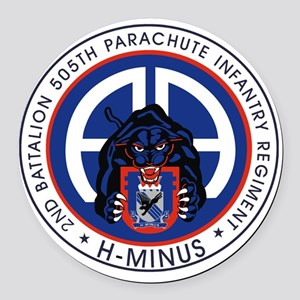 Panther v1_2nd-505th Round Car Magnet