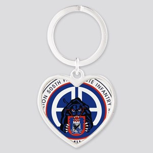 Panther v1_2nd-505th Heart Keychain