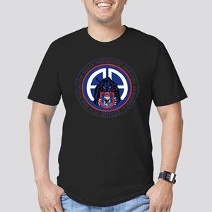 Panther v1_2nd-505th Men's Fitted T-Shirt (dark)