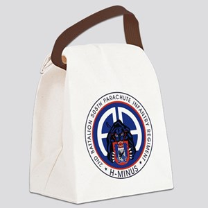 Panther v1_2nd-505th Canvas Lunch Bag