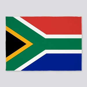 Flag Of South Africa 5'X7'area Rug