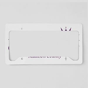 oslogo_purple License Plate Holder