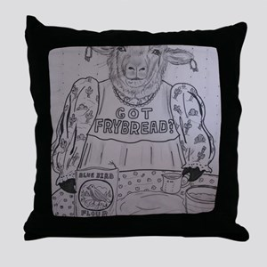 Got Frybread? Throw Pillow
