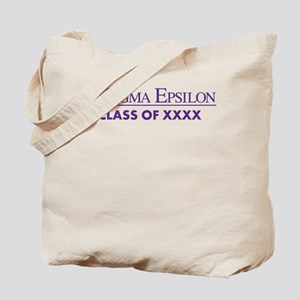 Pi Sigma Epsilon Class of XXXX Personaliz Tote Bag