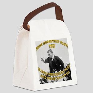 teddy wants Canvas Lunch Bag