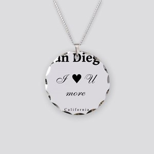 SanDiego_10x10_ILoveUMore_Bl Necklace Circle Charm