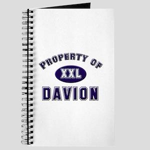 Property of davion Journal