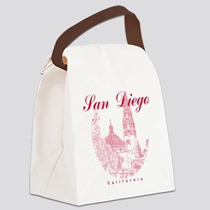 SanDiego_10x10_CaliforniaTower_Ro Canvas Lunch Bag
