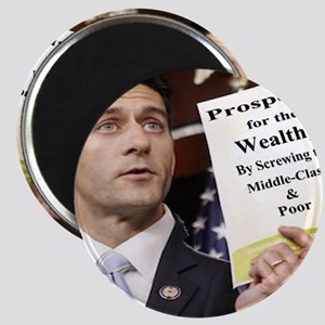 Paul Ryan Screw Working Class Budget copy Magnet