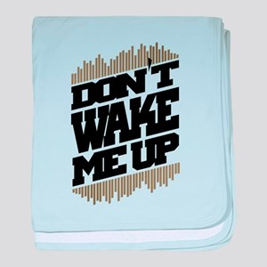 don't wake me up baby blanket