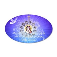 Mary and Jesus Wall Decal