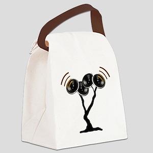 nooo back Canvas Lunch Bag