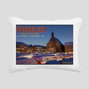 Nurnberg - Christkindlma Rectangular Canvas Pillow