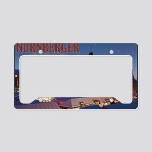 Nurnberg - Christkindlmarkt N License Plate Holder