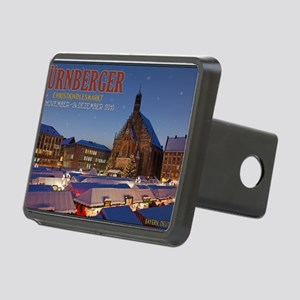 Nurnberg - Christkindlmark Rectangular Hitch Cover