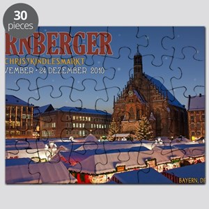 Nurnberg - Christkindlmarkt Night LS Puzzle