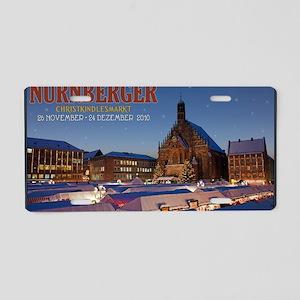 Nurnberg - Christkindlmarkt Aluminum License Plate