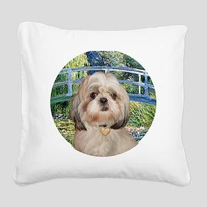 J-ORN-Bridge-Shih-Y Square Canvas Pillow
