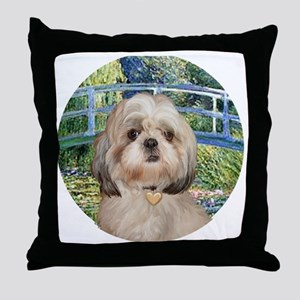 J-ORN-Bridge-Shih-Y Throw Pillow