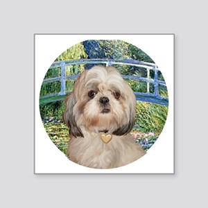 "J-ORN-Bridge-Shih-Y Square Sticker 3"" x 3"""
