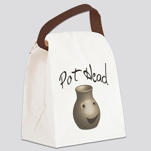 pot-head Canvas Lunch Bag