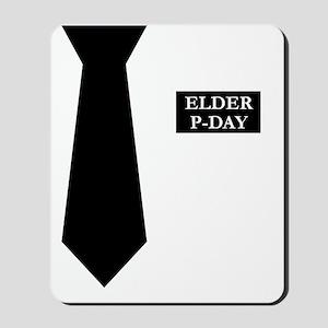 MORMON MISSIONARY SHIRT Mousepad
