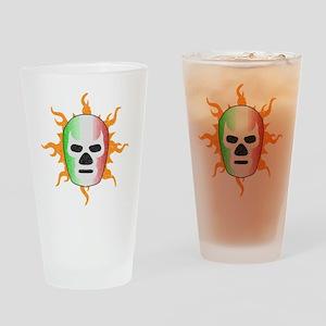 luchador-mask Drinking Glass