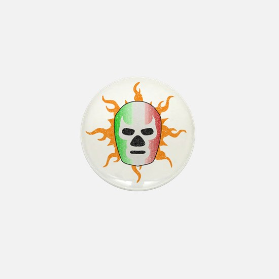 luchador-mask Mini Button