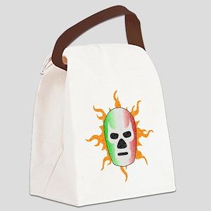 luchador-mask Canvas Lunch Bag