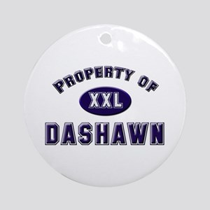 Property of dashawn Ornament (Round)